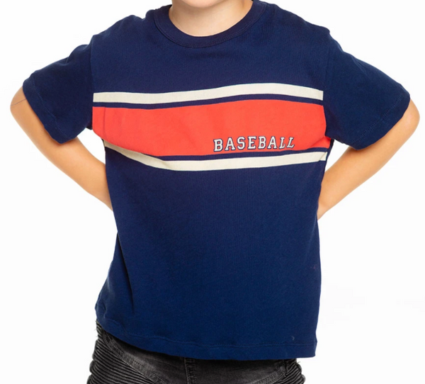 Baseball Stripes Tee