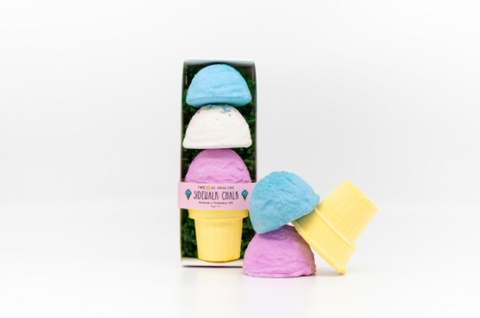 Three Scoop Sidewalk Chalk