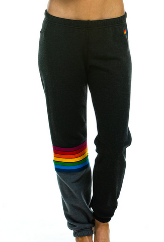 Rainbow Stitch Sweatpants