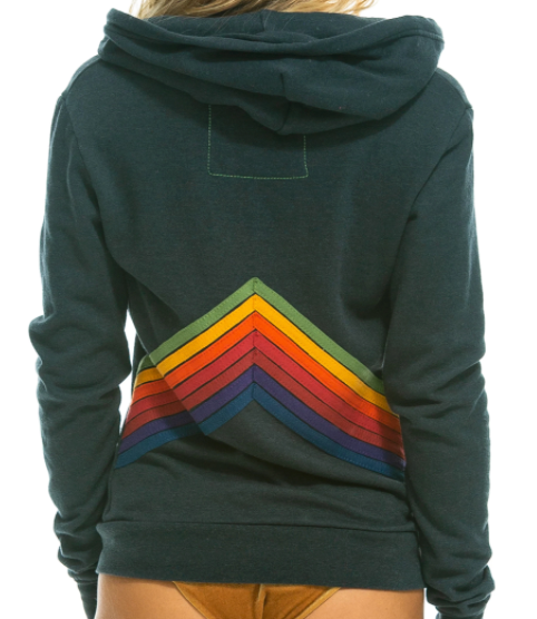 Mountain Stripe 7 Stitch Hoodie