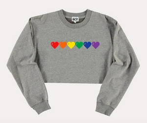 Rainbow Heart Crop Crew