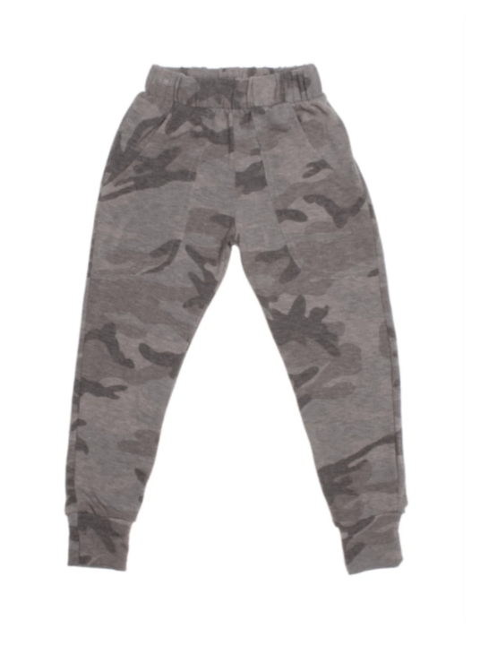 Lew Camo Grey Sweatpant
