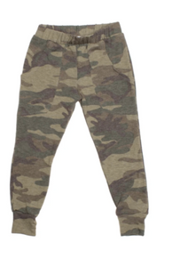 Lew Camo Green Sweatpant