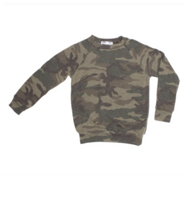 Lew Camo Green Sweatshirt