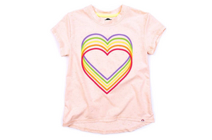 Appaman Rainbow Heart Circle Tee