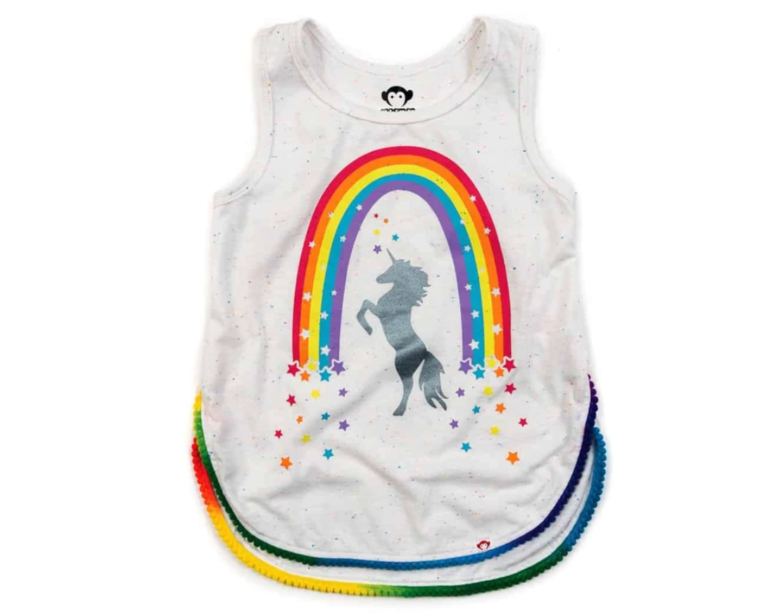 Appaman Rainbow Unicorn Tank