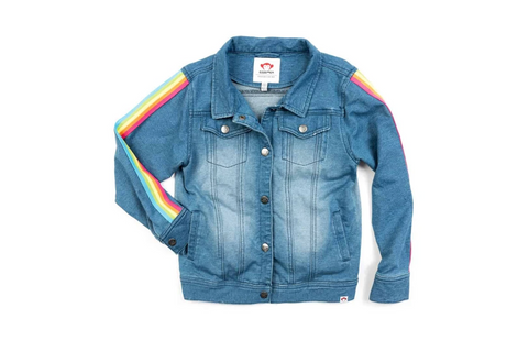 Zadie Denim Jacket Medium Blue