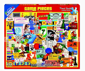 Game Pieces (1174pz) - 1000 Piece Jigsaw Puzzle