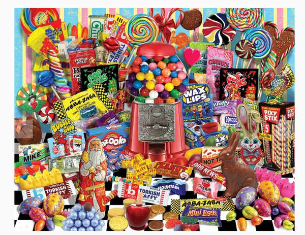Candy For All Season's (1136pz) - 1000 Piece Jigsaw Puzzle