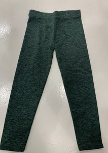 Dori Heather Green / Black Legging