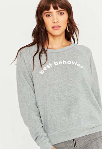 Reversible Sweatshirt - Best Behavior