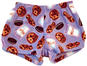 Made with Love and Kisses Lavender Milk 'n Cookies Boxer Shorts