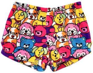Made with Love and Kisses Pups and Bears Boxer Shorts
