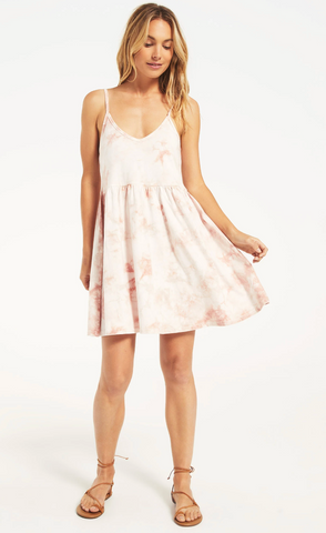 Kona Hazy Dress - Pink Champagne