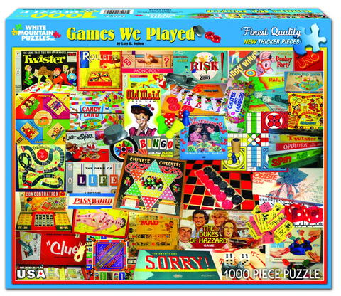 The Games We Played (924PZ) - 1000 Piece Jigsaw Puzzle