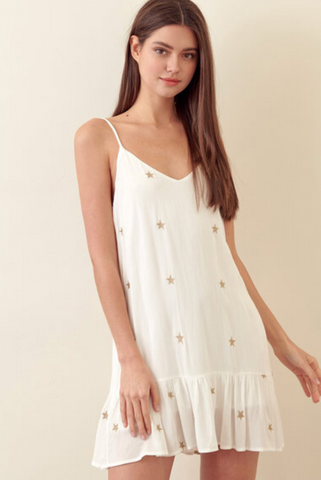 Storia Star Dress - White