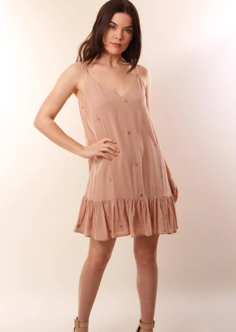 Storia Star Dress - Rose
