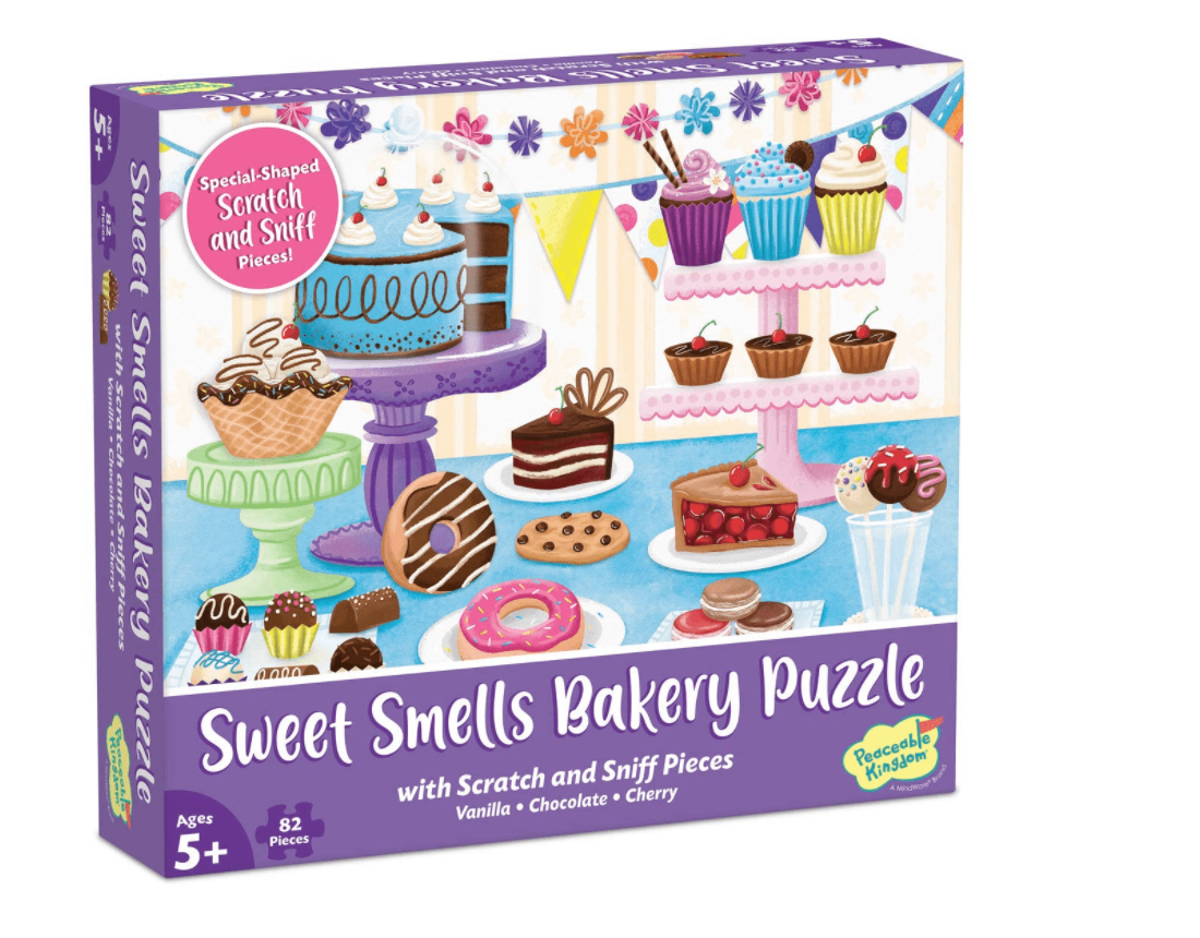 Sweet Smells Bakery Scratch and Sniff Puzzle