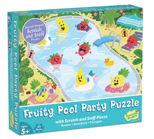 Fruity Pool Party Scratch and Sniff Puzzle