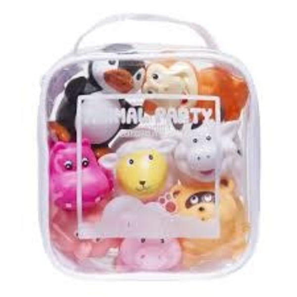 Animal Party Squirtie Set Bath Toys