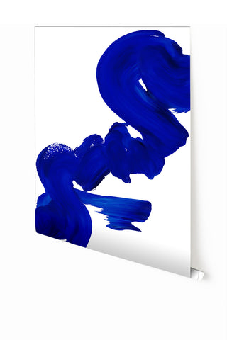 Wallpaper : Abstract Art #6© Mural// Cobalt