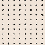 Wallpaper : Dotted Line© // Black + Cremé