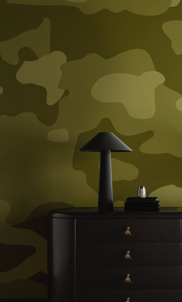 Wallpaper : Camo© Mural // Army