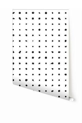Wallpaper : Dotted Line© // Black + White