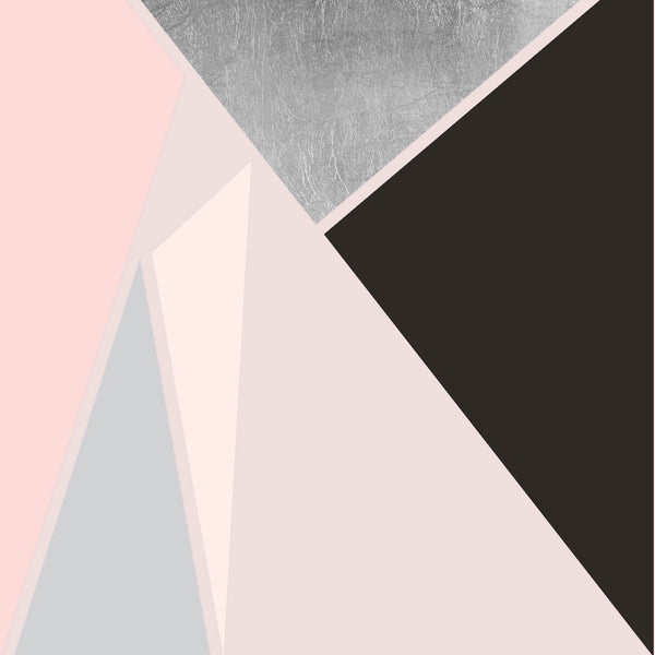 Wallpaper : Prism©: Silver on Blush