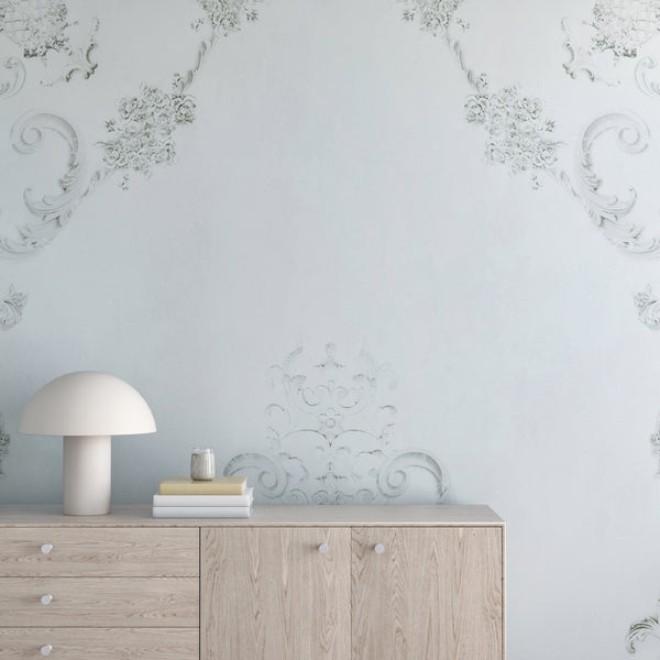 Wallpaper : Parisian© Mural // blue