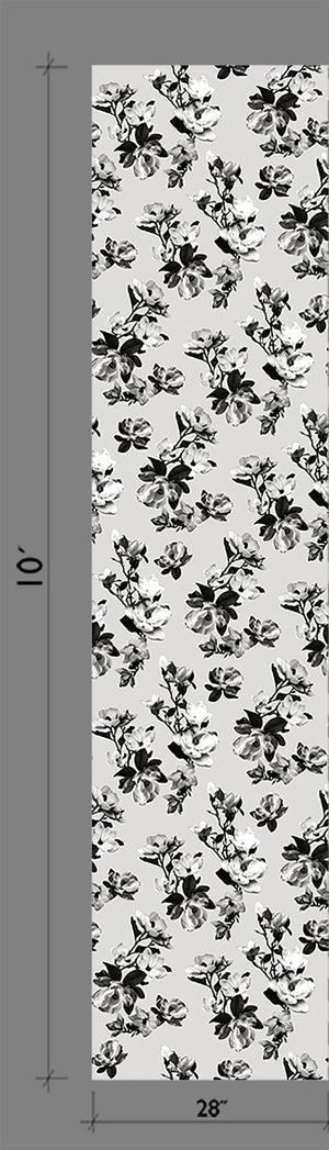 Wallpaper : Magnolia© // Black + White