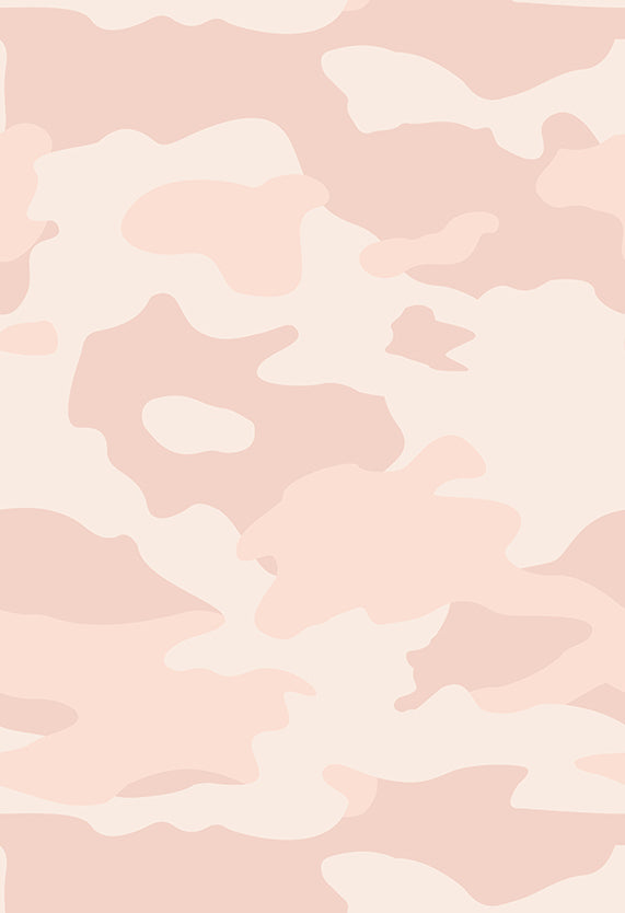 Fabric by the yard : Camo© // Blush