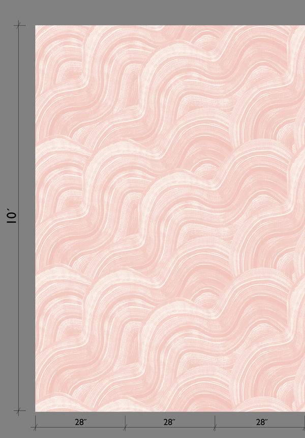 Wallpaper : Sediment #2© // Blush