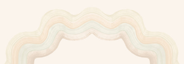 Fabric by the yard : Sediment #4© // Pastel