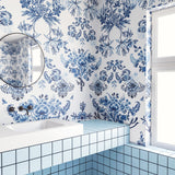 Wallpaper : Delft© // Blue