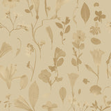 Wallpaper : Botanic Bloom© // Gold