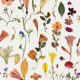 Fabric by the yard : Botanic Bloom© // White