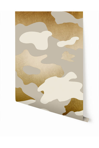 Wallpaper : Camo© // Gold