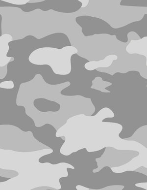 Fabric by the yard : Camo© // Grey