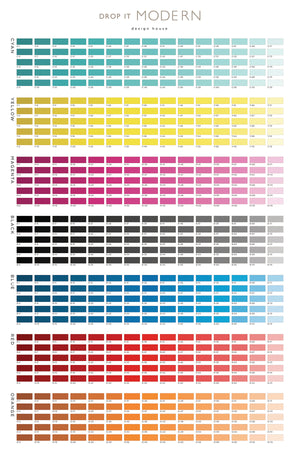 Wallpaper : Custom Color Chart