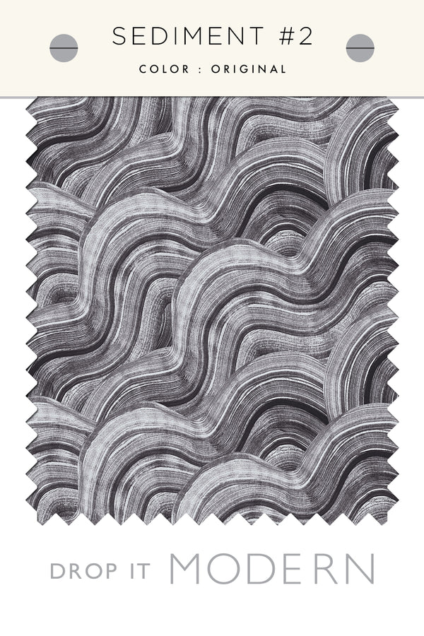 Fabric by the yard : Sediment #2© // Original