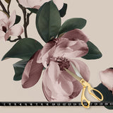 Fabric by the yard : Magnolia© // Large