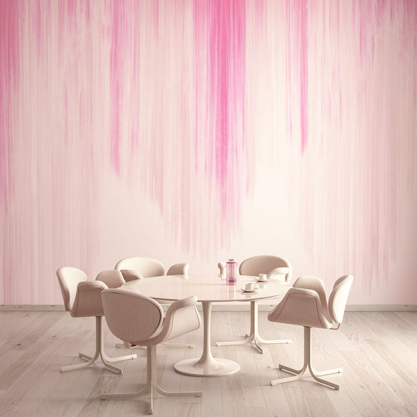 Wallpaper : Wavelength© Mural // Pink