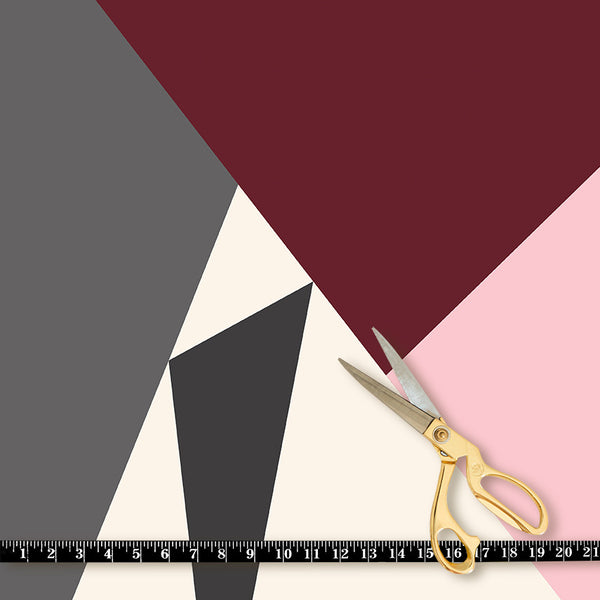 Fabric by the yard : Prism© // Burgundy