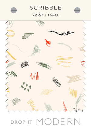 Fabric by the yard : Scribble© // Eames
