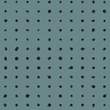 Fabric by the yard : Dotted Line© // Teal