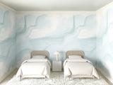 Wallpaper : Modern Art© Mural // Powder Blue