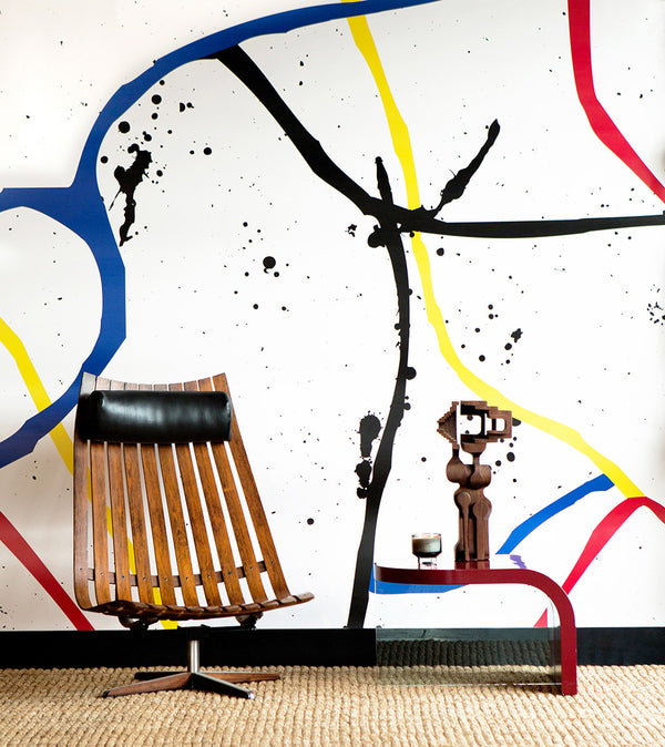 Wallpaper : Playground© Mural // Eames