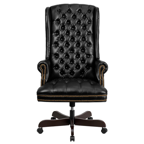 Massey Tufted Executive Swivel Chair