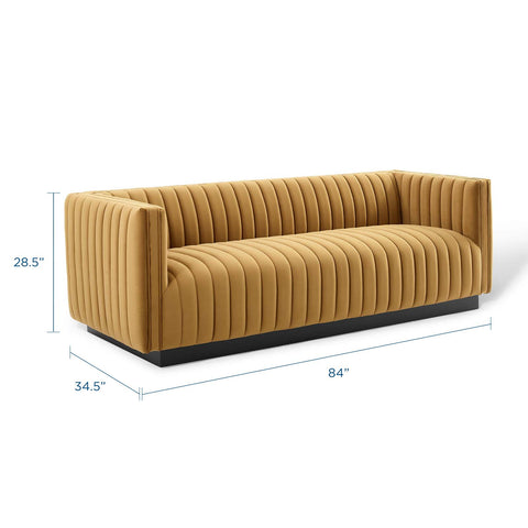 Cami Channel Tufted Sofa